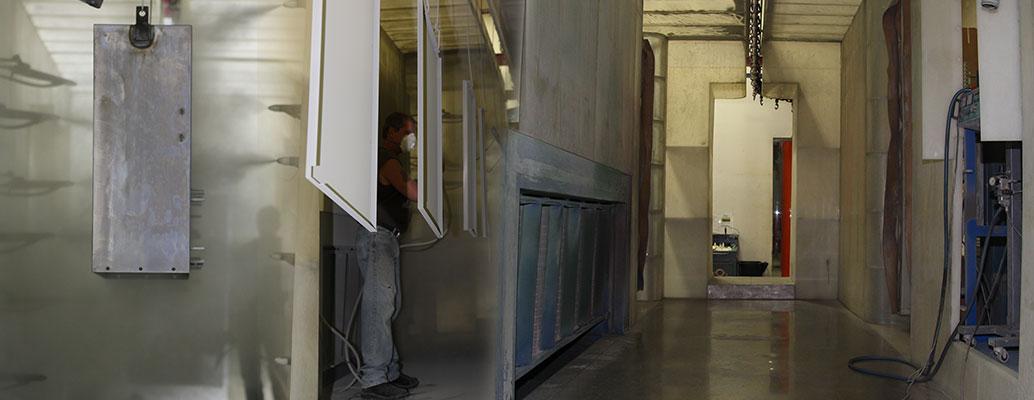 Powder Coat Paint System, Capabilities