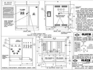 crane transformer, port crane transformer