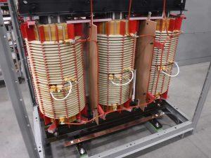 transformer liquified natural gas export facility