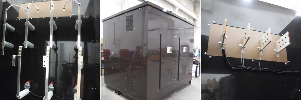 pad mounted cast coil transformer